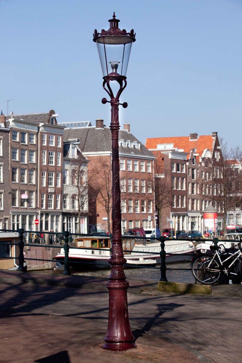 Gietijzeren Grachtenmast  Amsterdam  Ghm  Eclatec 1
